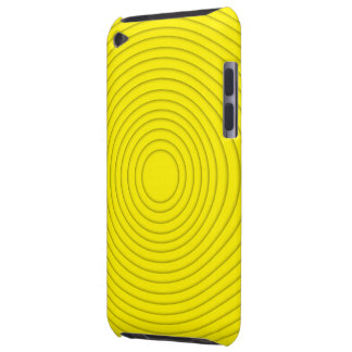 ipod touch espiral amarelo da ilusão capa para iPod touch
