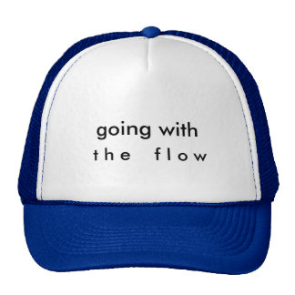 ir com o boné de beisebol do fluxo