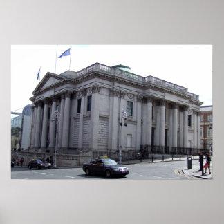 Ireland: Câmara municipal de Dublin Poster
