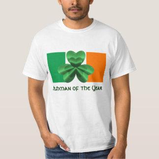 Irlandês do baixo custo da camisa do valor T do