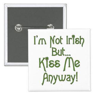 Irlandês engraçado botons