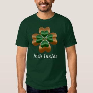 Irlandês para dentro tshirts
