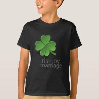 Irlandês pelo design do casamento t-shirts