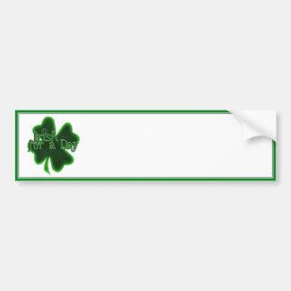 Irlandês por um dia adesivo