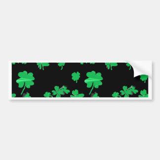 Irlandês verde afortunado do trevo da folha do tre adesivos