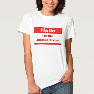 Irmã ciumento camiseta