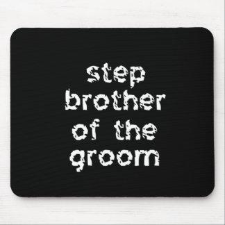 Irmão da etapa do noivo mouse pad