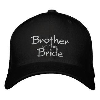 Irmão do boné bordado noiva