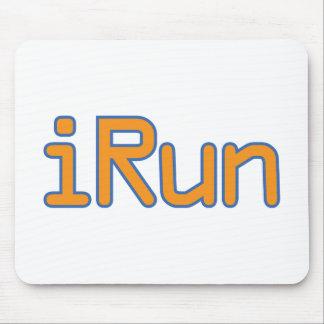 Irún - laranja (esboço azul) mousepad