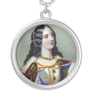 Isabella da colar redonda de Valois