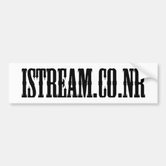 iStream.co.nr Bumpersticker Adesivo Para Carro