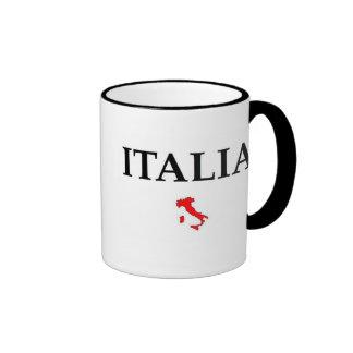 Italia Caneca Com Contorno