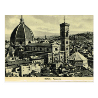 Italia, Florença, Firenze, 1908, Firenze, domo 1 Cartão Postal