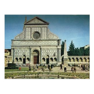 Italia, Florença, Firenze, novela de S.Maria Cartão Postal