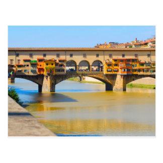 Italia, Florença, Ponte Vecchio Cartoes Postais