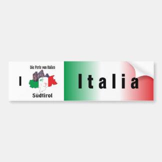 Itália - Italia autocolante de automóvel Adesivo Para Carro