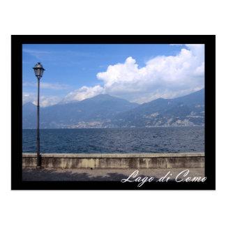 Italia, lago Como Cartões Postais