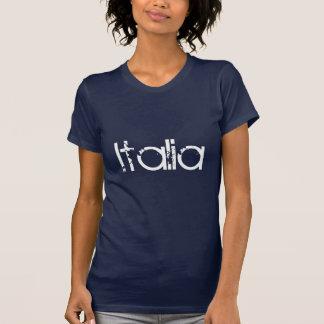 Italia (parte dianteira somente) camisetas