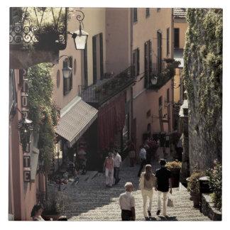 Italia, província de Como, Bellagio. Salita 2 Azulejo