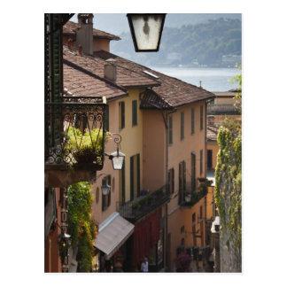 Italia, província de Como, Bellagio. Salita Cartão Postal