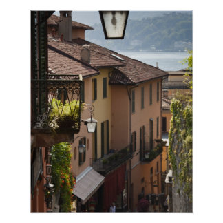 Italia província de Como Bellagio Salita Posters