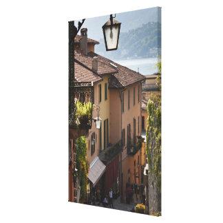 Italia, província de Como, Bellagio. Salita Impressão Em Tela Canvas