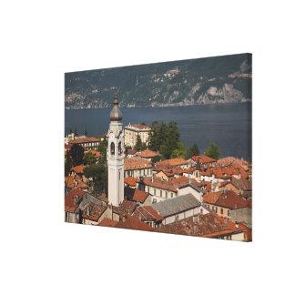 Italia, província de Como, Menaggio. Opinião e 2 d Impressão Em Tela Canvas