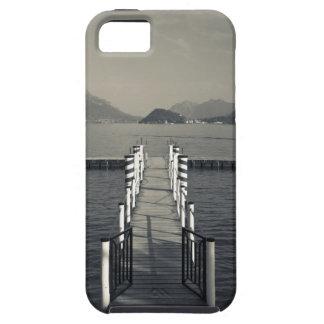 Italia, província de Como, Tremezzo. Cais do lago Capas iPhone 5 Case-Mate