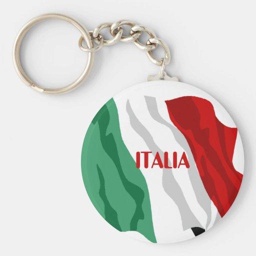 Italiano de Italia do chaveiro de Italia