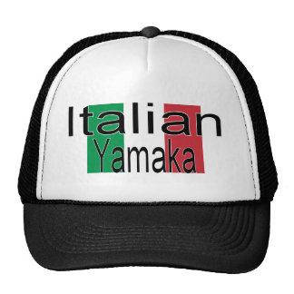 Italiano engraçado Yamaka do chapéu Boné