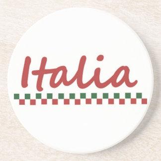 "Italiano porta copos de ""Italia"" Italia"