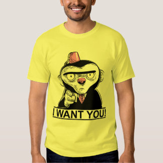 IWantYou! Camisetas