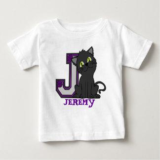 J JAGUAR, iniciais conhecidas, crianças feitas sob Tshirts