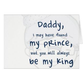 J love dad cartão comemorativo