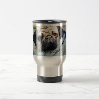 J love pugs cup