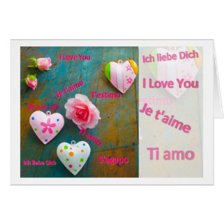 J love you card cartao