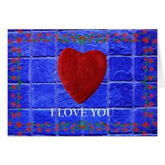 J love you cartão