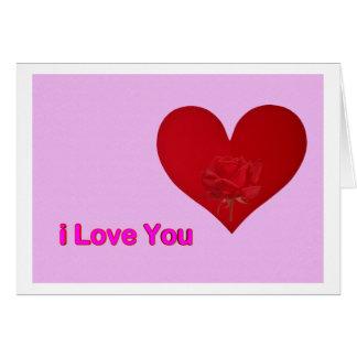 J Love You Cartões