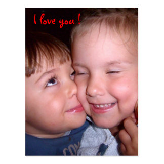 J love you! Cume love Cartão Postal