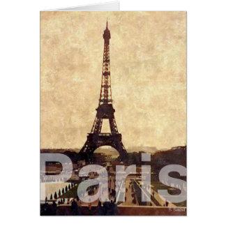 J Paris love Cartão