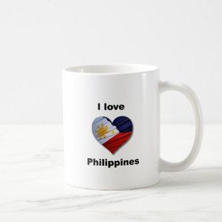 J Philippines love Caneca De Café