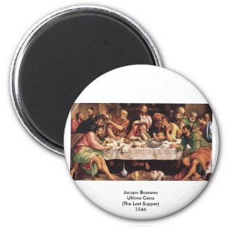 Jacapo Bossano - Ultima Cena (última ceia), 1546 Ímã Redondo 5.08cm