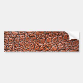 Jacaré de Brown - impressão animal Adesivo Para Carro