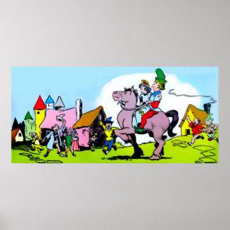 Jack a Assassino-Princesa gigante (em 23 tamanhos) Poster