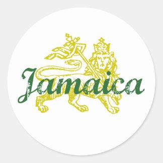 Jamaica Adesivos Em Formato Redondos