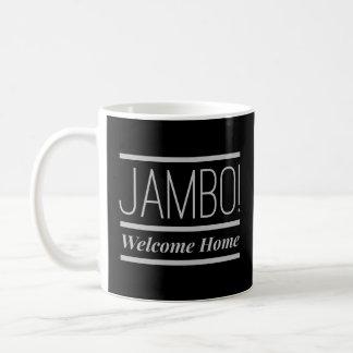 JAMBO! Caneca Home bem-vinda