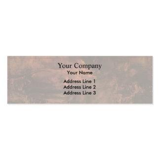 James Assobiador-Brown & ouro: Retrato da senhora  Cartões De Visitas