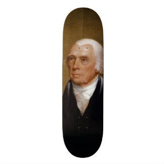 James Madison por Chester Harding (1830) Shape De Skate 19,7cm