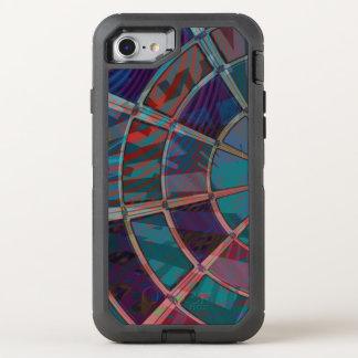 Janela azul capa para iPhone 8/7 OtterBox defender