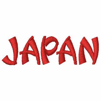 Japão de Ásia Camiseta Bordada Polo
